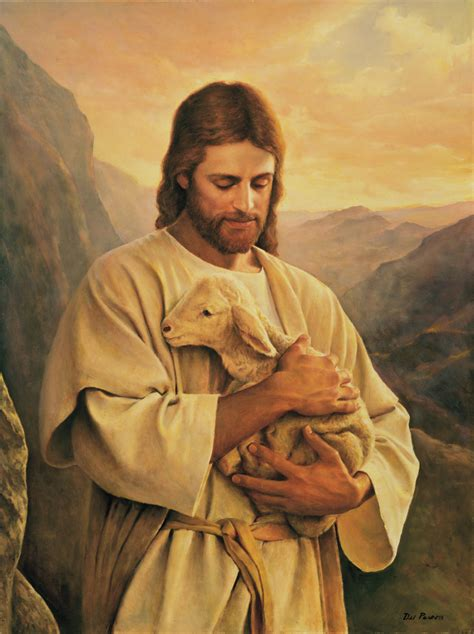 imagenes jesucristo lds the lost lamb