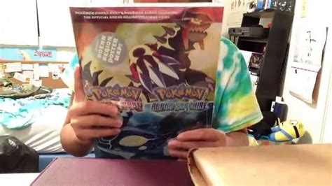 alpha guide books unboxing omega ruby alpha sapphire the