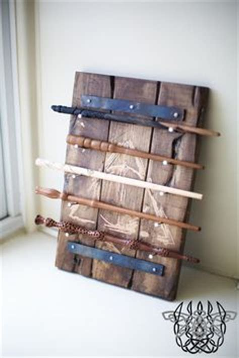 Harry Potter Wand Display Rack by I M Such A But I This Nerdy Lifestyle