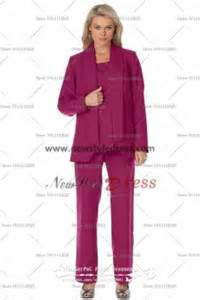 Purple of the bride pant suits red mother s pant suits purple mother