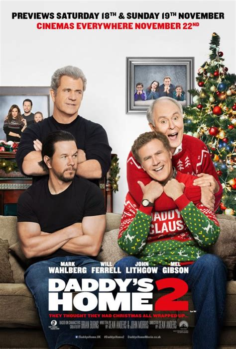 download full movies daddys home 2 by will ferrell and mark wahlberg new poster and trailer for daddy s home 2