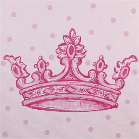 girly crown tattoo designs pink crown inspired square canvas and artwork in decor