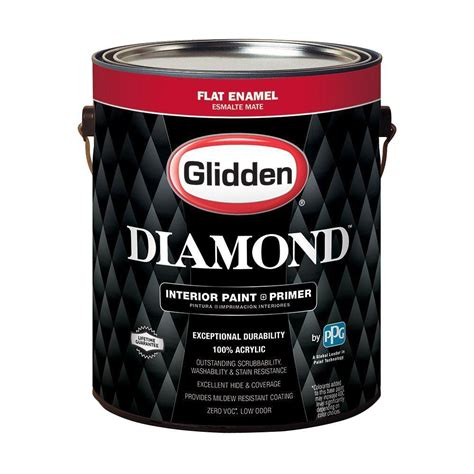glidden paint glidden premium 1 gal hdgcn56u touch of grey flat interior paint with primer hdgcn56up 01fn