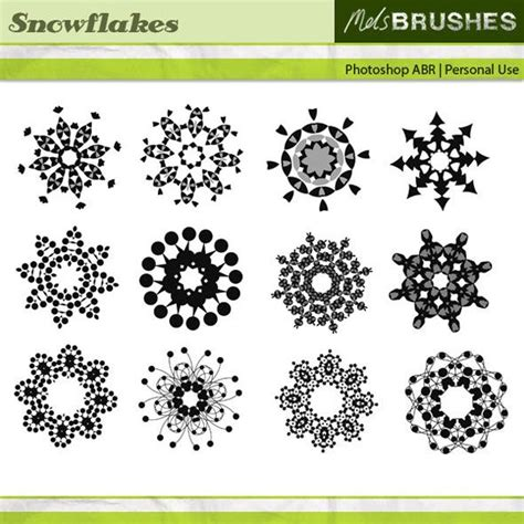 Beckham Snowflakes 1104 3 Set 3 In One 7 best free graphics clipart illustrations images on photoshop brushes free