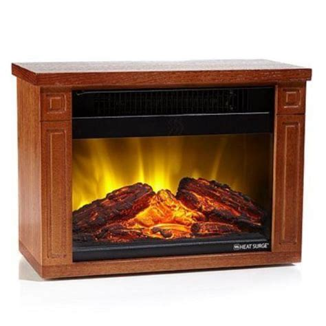 heat surge electric fireplace ebay
