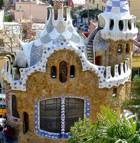 gaudi house barcelona gaudi s house park guell the vibes