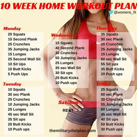 best 25 no equipment workout ideas on at home