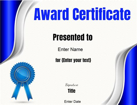 certificates for certificate templates