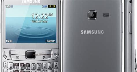 Hp Samsung Qwerty Dual Sim samsung ch t 357 hp samsung murah dengan dual sim dan tombol qwerty review hp terbaru
