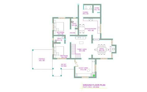 2 bedroom kerala house plans free simple 2 bedroom house plans kerala style escortsea