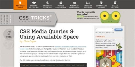 tutorial css media queries 25 best responsive web design sites for your inspiration