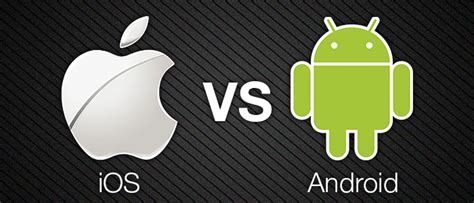 android vs ios android vs ios 5 reasons why android is better geeks gyaan