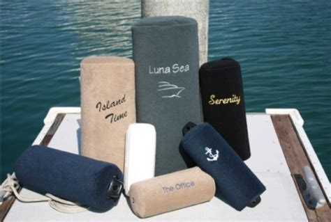personalized boat fenders cape hatteras custom boat fender covers sandie s galley
