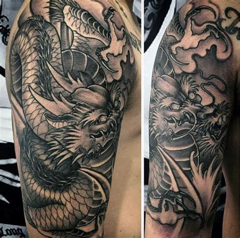 mythical dragon tattoo designs 50 deadly tattoos for manly mythical monsters