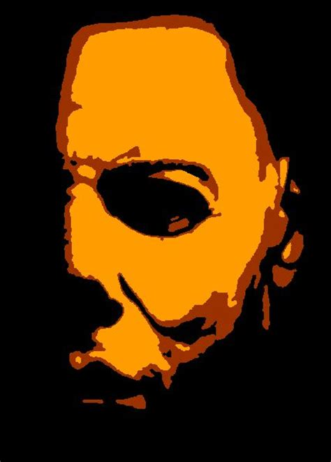 knife pumpkin pattern halloween michael myers pumpkin stencil michael myers