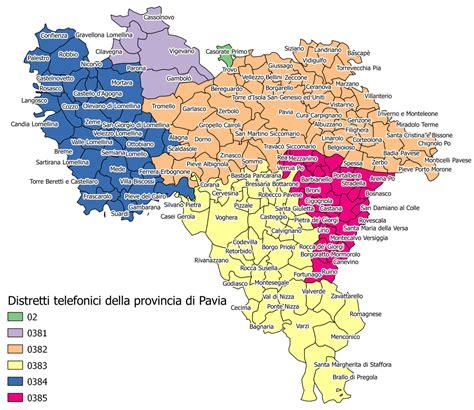 cartina provincia pavia 0382