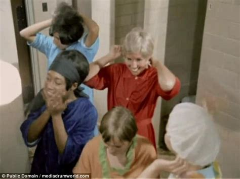 ladies bathroom scenes military women given grooming lessons in shocking film news2read