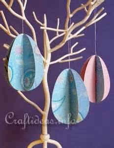 Paper Easter Egg Crafts - the thursday 13 creative easter egg decorating ideas