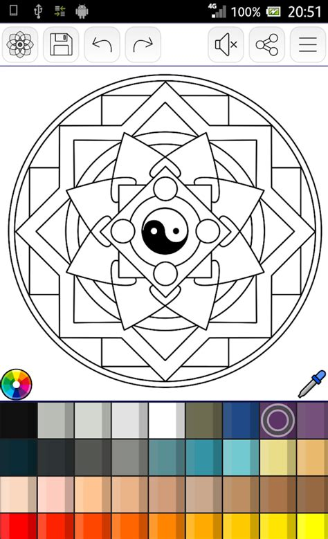 coloring book app template mandalas coloring pages 200 free templates android