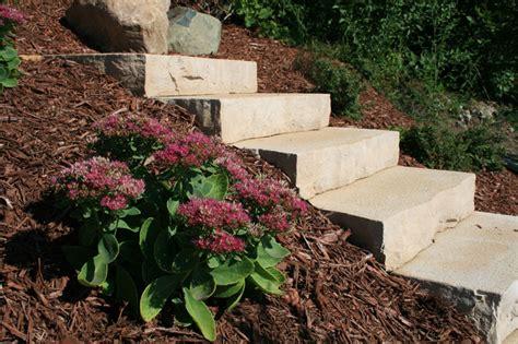 Landscape Ideas You Can Use Rocksteps Lightweight Steps Stairs Landscape