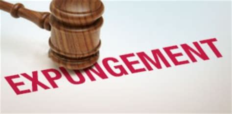 Expungement Of Criminal Record In Criminal Records Expungement And The Chronic Homeless