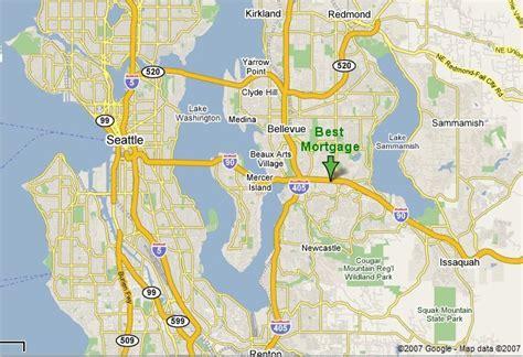 seattle va map seattle mortgage best mortgage 425 649 6000 bellevue