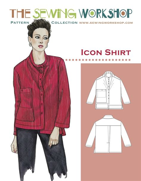 pattern workshop review sewing workshop icon shirt