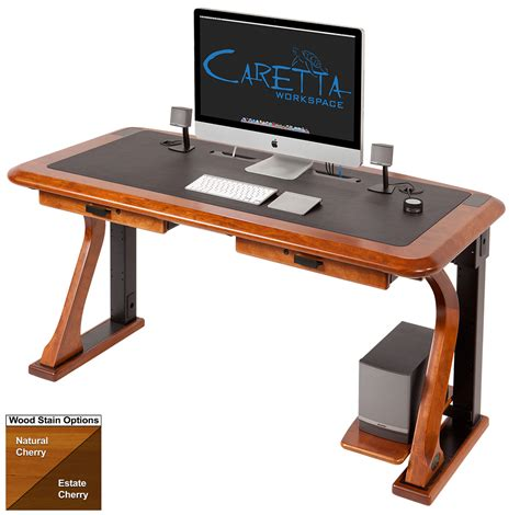 computer desk artistic computer desk caretta workspace