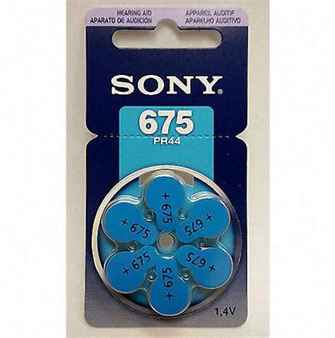 Sony Hearing Aid Battery Za 675 Pr44 sony 675 pr44 zink air hearing aid battery 1 4v