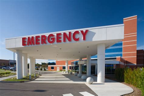 riverview center emergency room healthcare architecture firm indianapolis bdmd