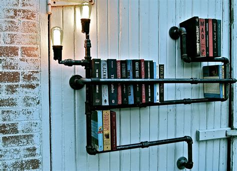 cool shelving brilliant pipe idea stella bleu designs c o etsy