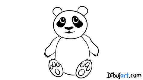 imagenes de oso para dibujar a lapiz c 243 mo dibujar un oso panda paso a paso dibujart com