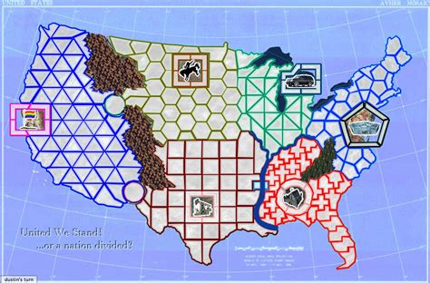 what does map stand for castle usa united we stand map