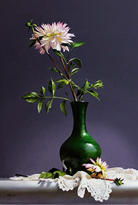 imagenes de rosas en jarrones cuadros modernos pinturas y dibujos jarrones de cristal