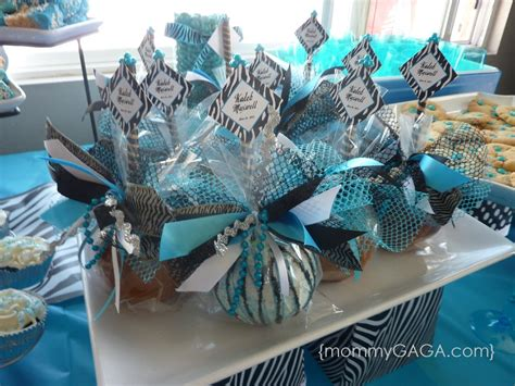 unique baby shower centerpieces for boys zebra blue unique baby shower theme for boys honey