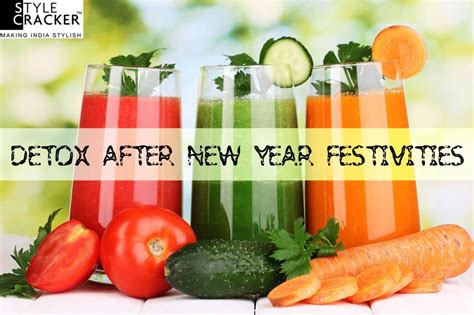 How To Detox After New Year by Detox After New Year Festivities Stylecracker
