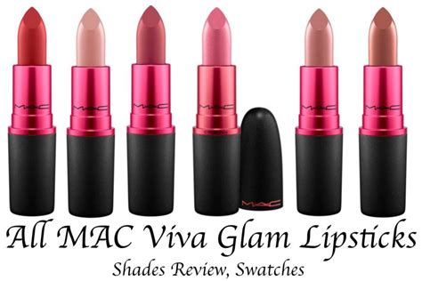 Eyeshadow Viva No 5 all mac viva glam lipsticks shades review swatches