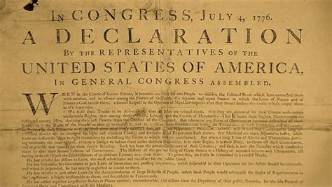 5 Sections Of The Declaration Of Independence by Declare Your Independence Mel Joulwan Well Fed