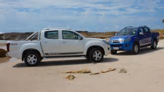 Isuzu Dmax Road Review 2015 Isuzu D Max And Mu X Review Road Carsguide