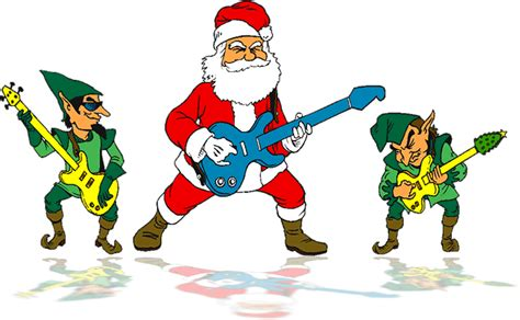 animated santa band animated elves clipart clipart suggest