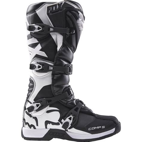 fox comp 5 motocross boots fox comp 5 mx boots black