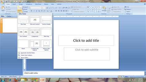 cara membuat power point lengkap cara membuat slide presentasi powerpoint anda download