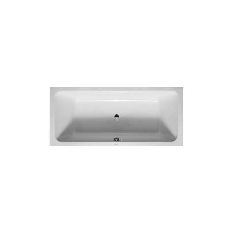baignoire duravit d code duravit baignoire d code 1800x800mm blanc avec 2 dossiers