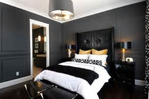 Black And White Bedroom by Bold Black And White Bedrooms With Bright Pops Of Color