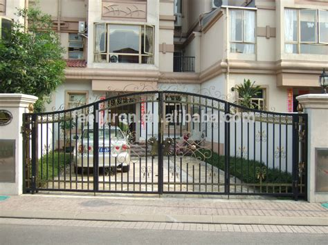 simple steel gate design for villa buy steel gate design