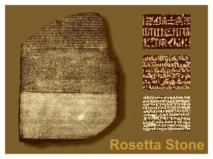 rosetta stone young what survives in the ground the rosetta stone and scoda