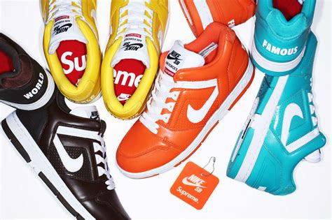 Nike Sb Supreme 2 supreme x nike sb air 2 collection le site de la
