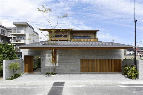 modern japanese houses cawah homes contemporary wooden house in hinomiya by tsc architects
