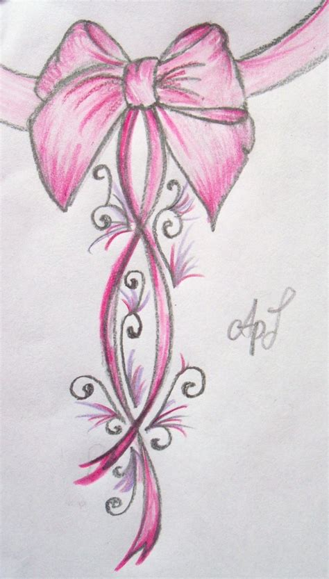 pink ribbon tattoos designs bow tattoos designs ideas and meaning tattoos for you