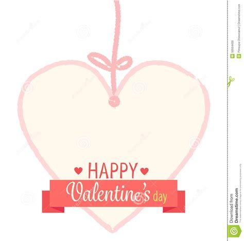 valentines day ribbon happy s day ribbon stock vector image 50554430